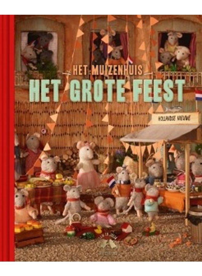 Boeken   het muizenhuis   het grote feest   4+