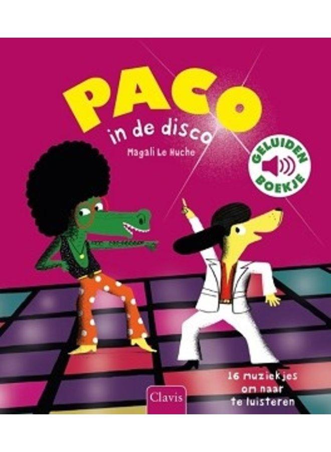 Boeken   paco in de disco   geluidenboek   3+