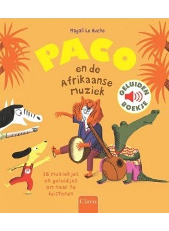 Boeken | paco en de afrikaanse muziek | geluidenboek | 3+