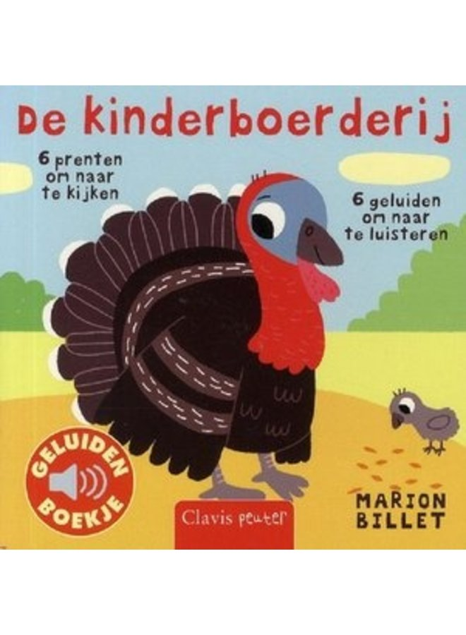 Boeken | de kinderboerderij | geluidenboekje | 1+