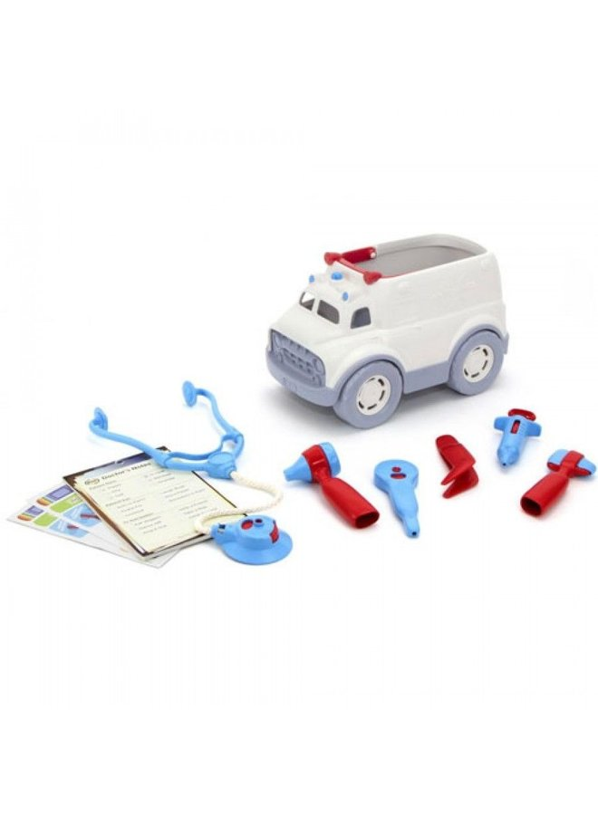 Green Toys | ambulance & doktersset