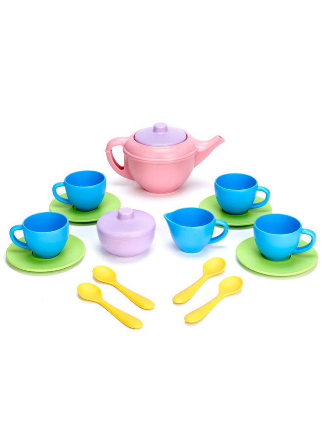 Green Toys | theeservies | roze theepot