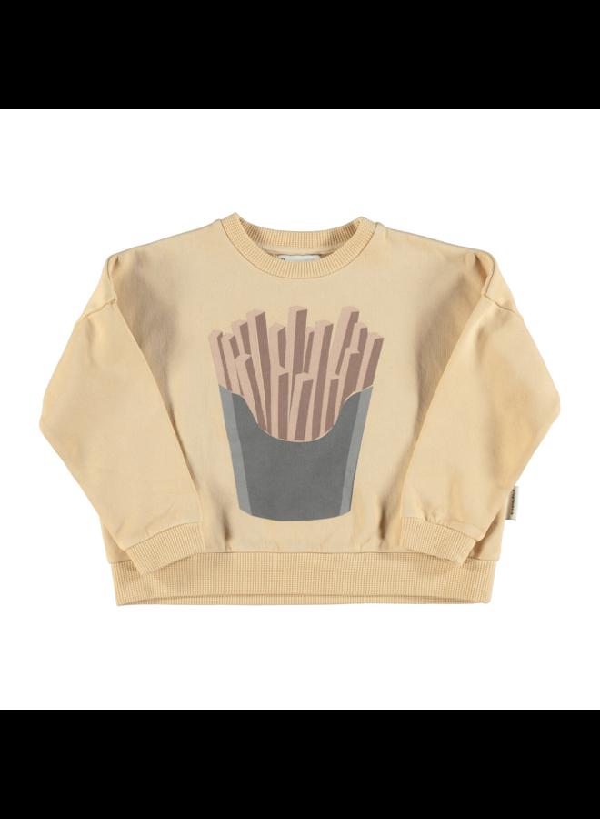 Piupiuchick | unisex sweatshirt | caramel with print