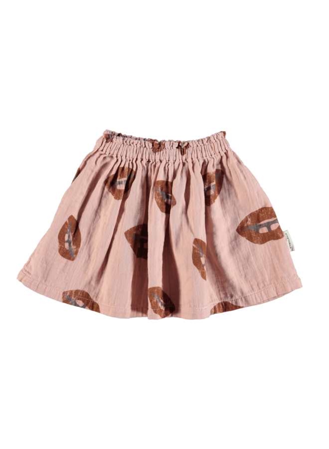 Piupiuchick | short skirt | pale pink with allover