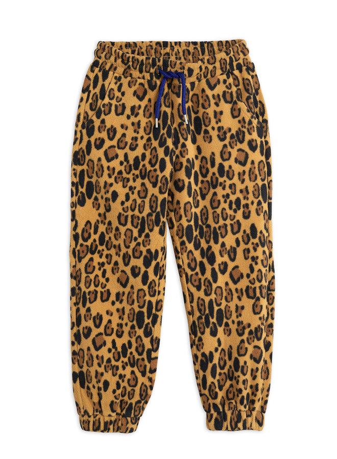 Mini Rodini | fleece trousers | beige