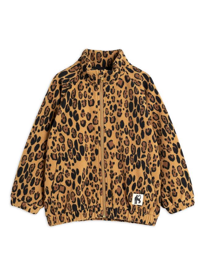 Mini Rodini | fleece jacket | beige