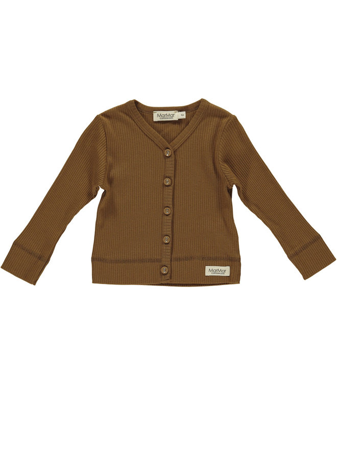 MarMar | cardigan ls | leather