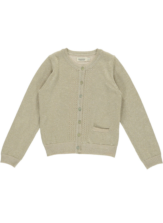 MarMar | tilia | knit vest | gold