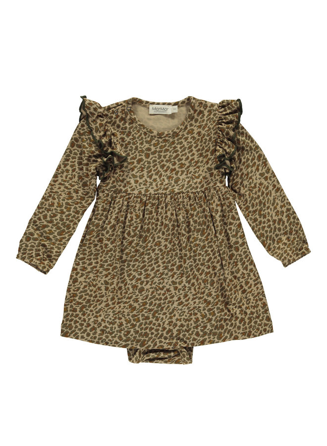 MarMar | leo ramona frill ls | dress | leather leo