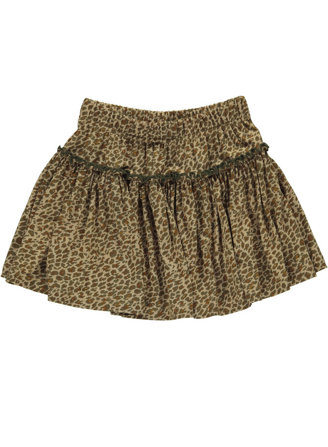 MarMar | leo sylvia | leopard | skirt | leather leo