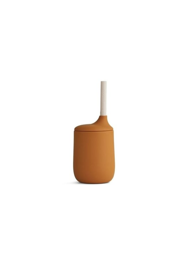 Liewood | ellis sippy cup | mustard/sandy mix