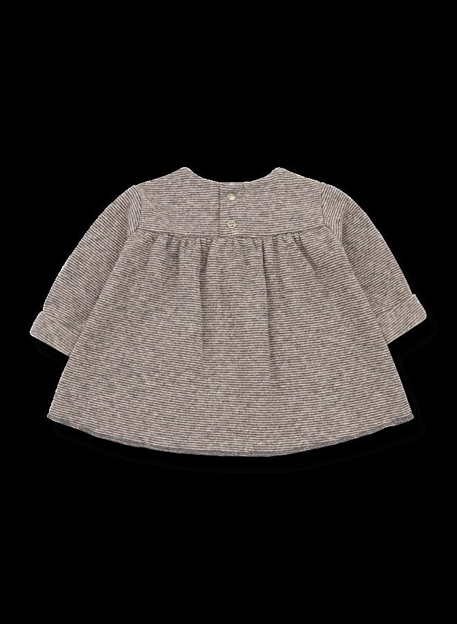 1+ in the family | chardon net dress | rose/terrau