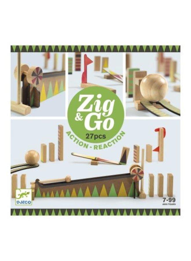 Djeco | zig and go | 27 pieces