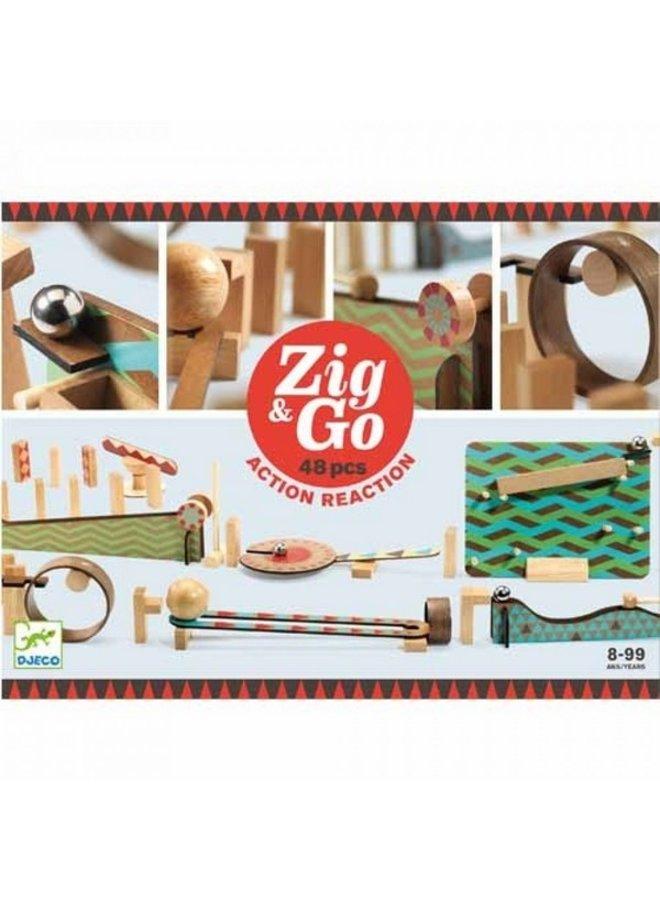 Djeco | zig and go | 48 pieces