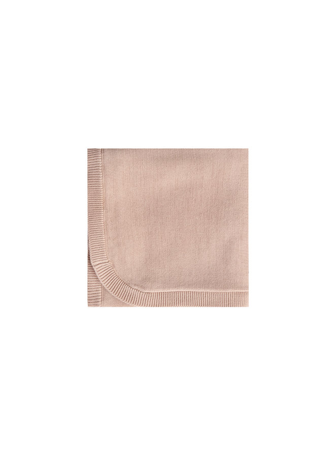 Quincy Mae | knit baby blanket | rose