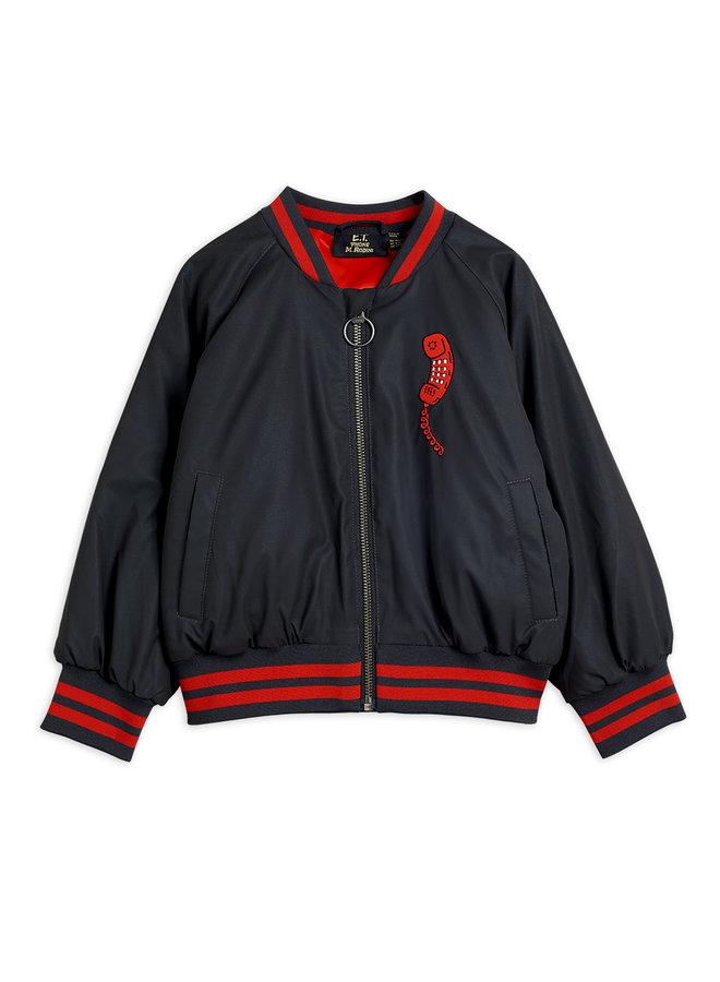 Mini Rodini | reflective baseball jacket