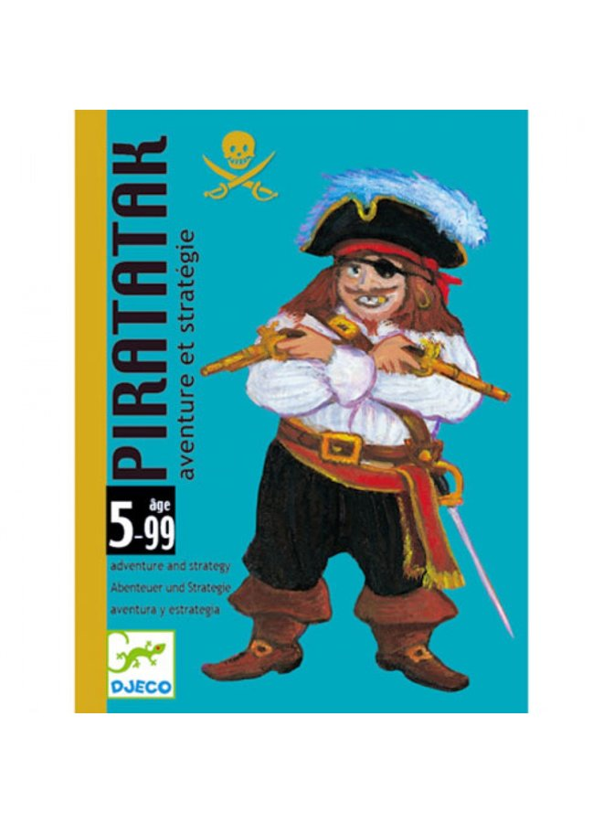 Djeco | kaartspel | piratatak
