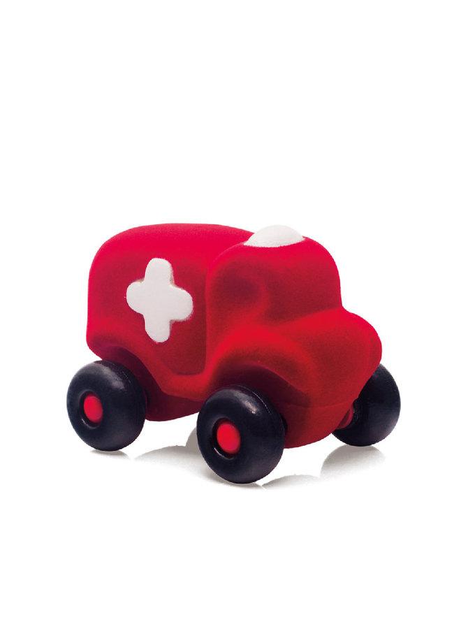 Rubbabu | hopkins ambulance groot | rood