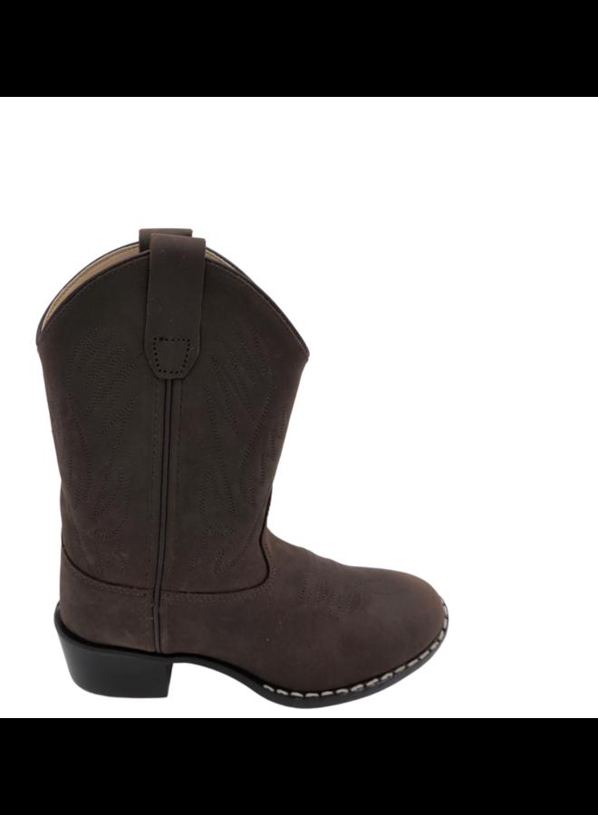 Bootstock   western boot   chocolat