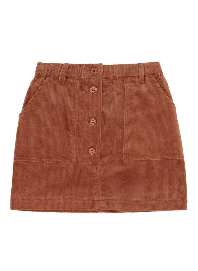 Soft Gallery | garance skirt | baked clay
