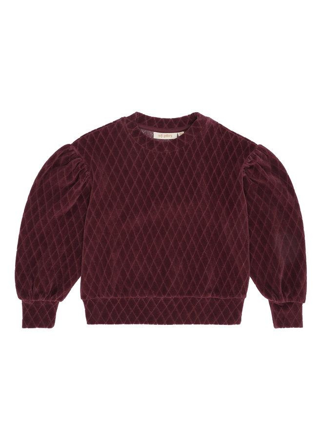 Soft Gallery | geneva sweatshirt | rose brown