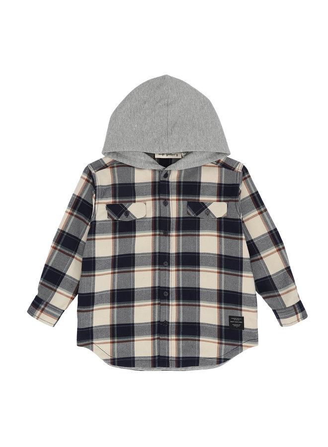 Soft Gallery | emerson shirt | green check