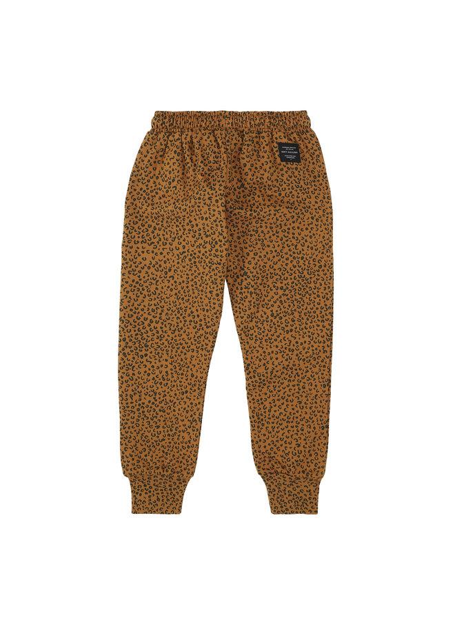 Soft Gallery | becket pants | golden brown | aop leospot