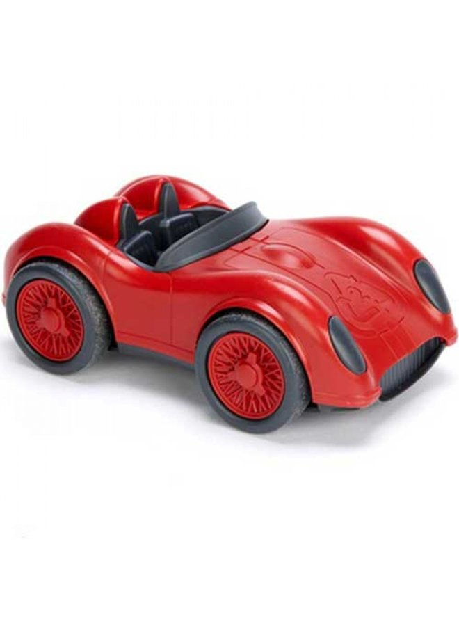 Green toys | race car | red