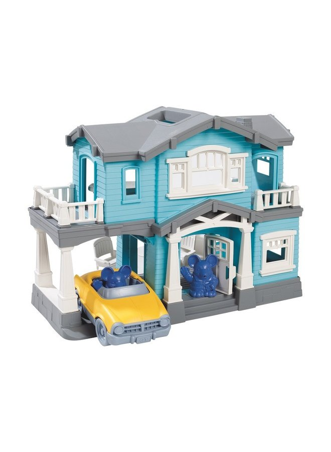 Green toys | speelhuis | blauw