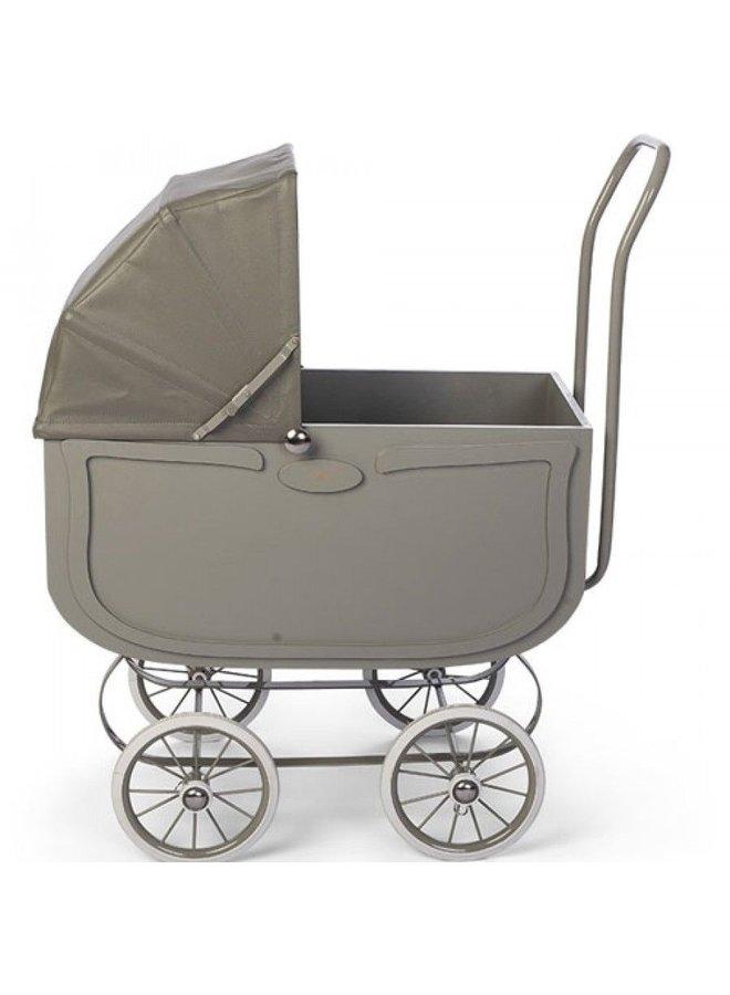Minikane | grijze vintage poppenwagen