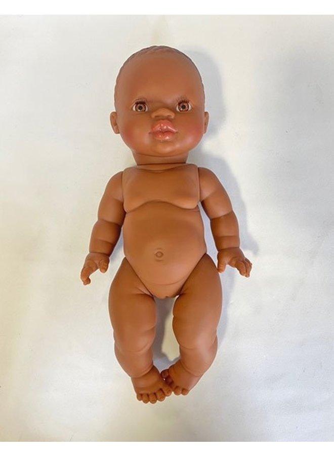 Paola Reina   doll 34 cm   petite fille d'afrique aux yeux miel