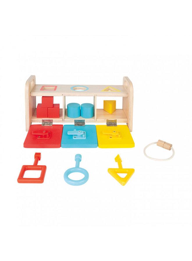 Janod | essential | vormsorteerder met sleutels