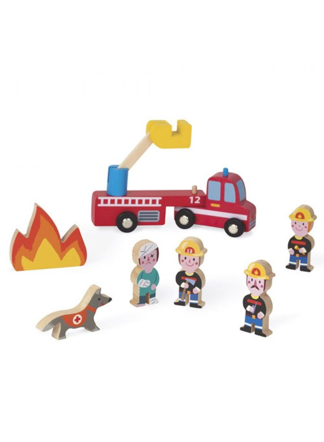 Janod | story | brandweer set