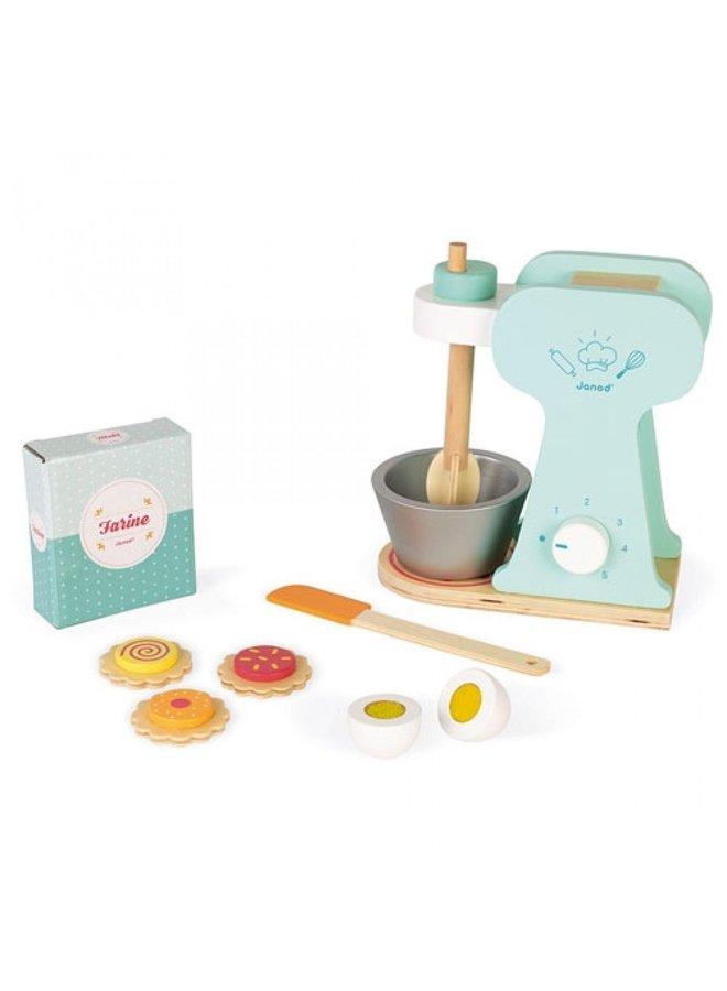 Janod | keukenmachine bakset