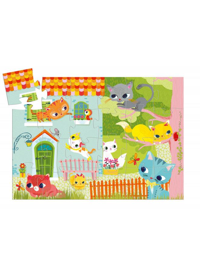 Djeco | puzzel | pachat en zijn vrienden