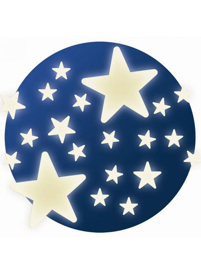 Djeco | glow in the dark stickers | stars