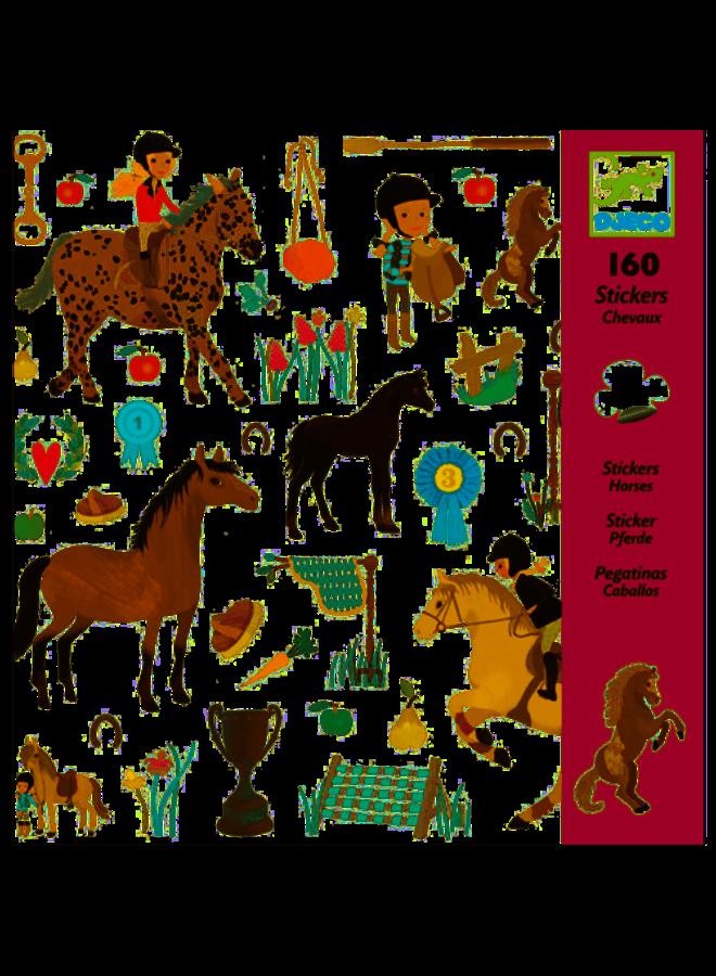 Djeco | stickers | paarden