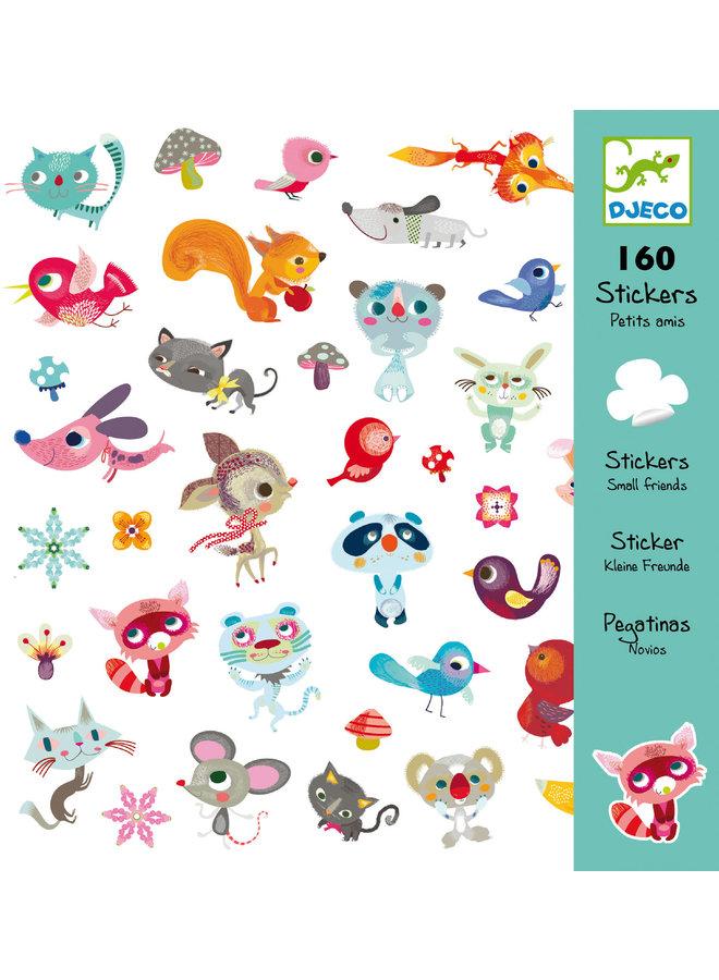 Djeco | stickers | kleine vriendjes