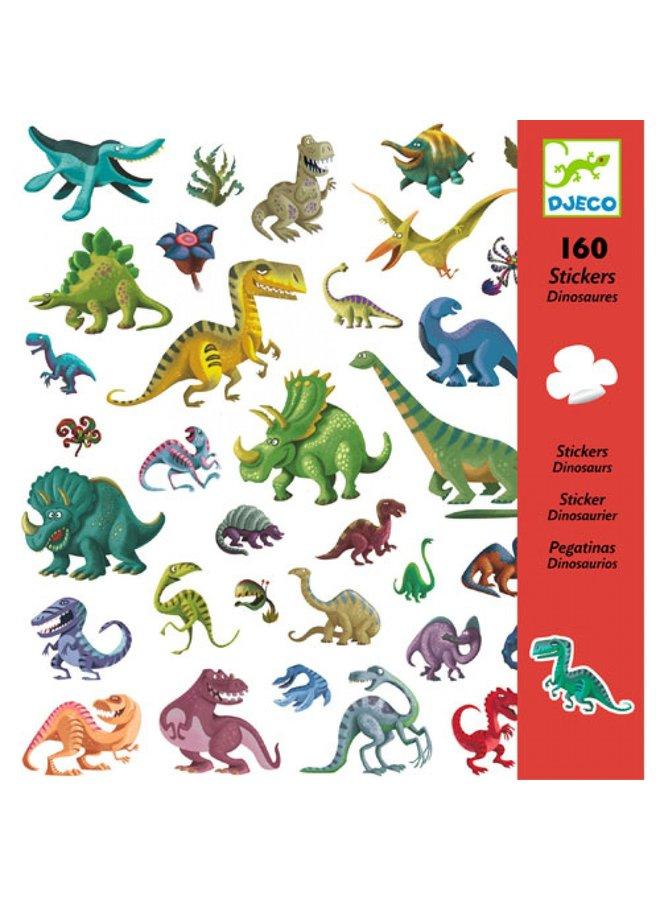 Djeco   stickers   dinosaurs