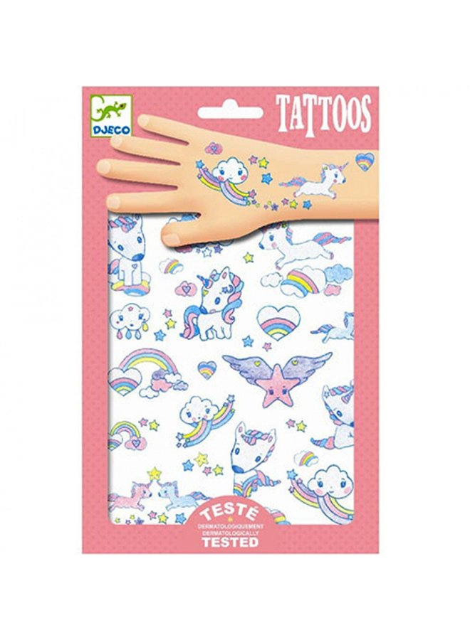 Djeco | tattoos | unicorns