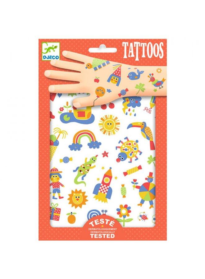 Djeco | tattoos | so cute