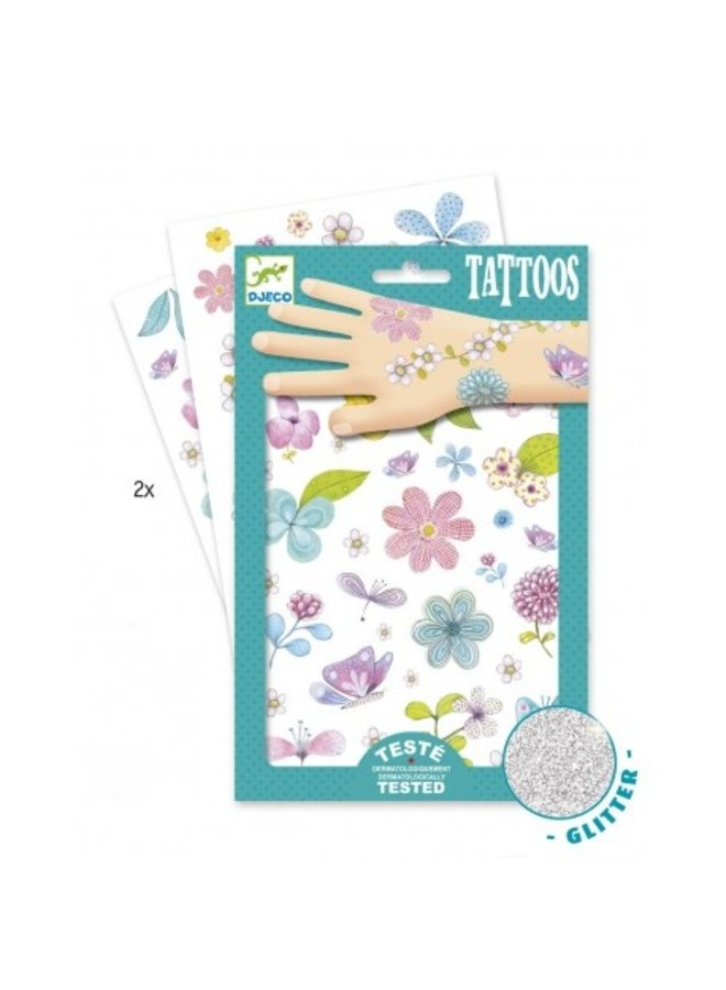 Djeco | tattoos | fair flowers of the fields