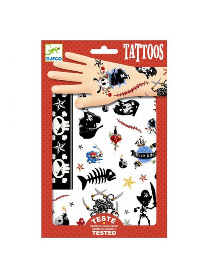 Djeco | tattoos | pirates