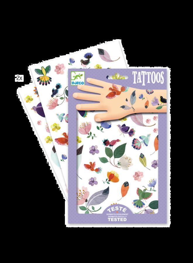 Djeco | tattoos | in flight