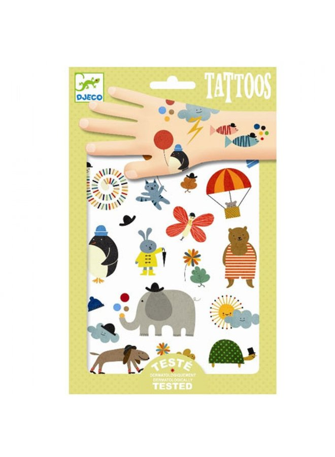 Djeco | tattoos | pretty little things