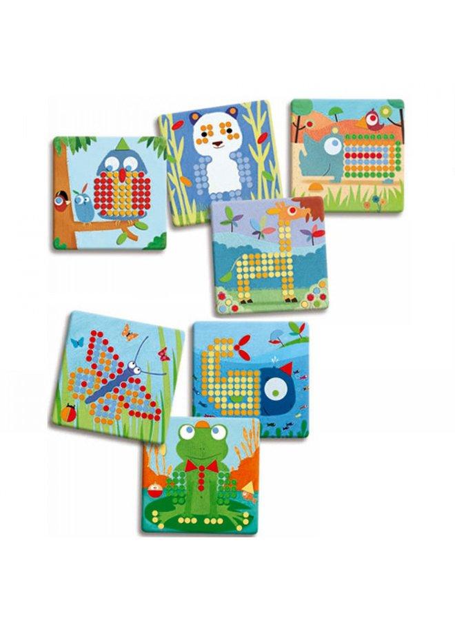Djeco   mosaicspel