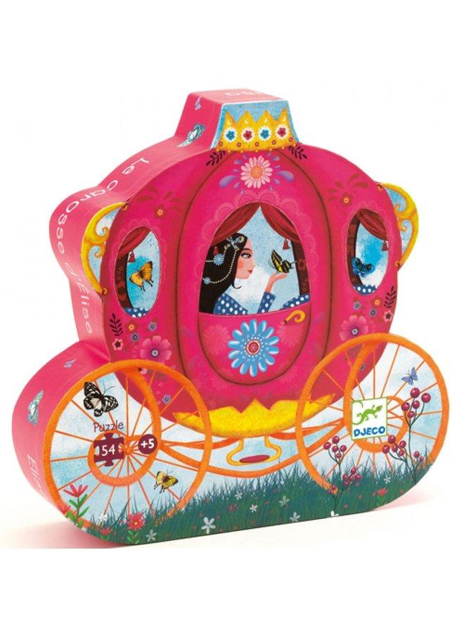 Djeco   puzzel   elises carriage
