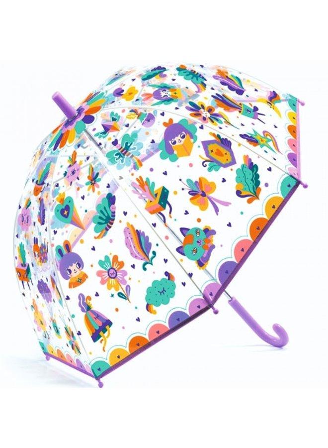 Djeco | paraplu | paraplu | lovely rainbow
