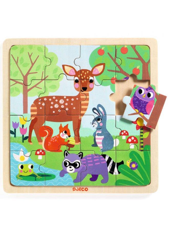 Djeco | houten puzzel | forest