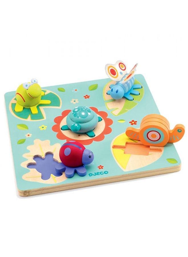 Djeco | houten puzzel | lilo